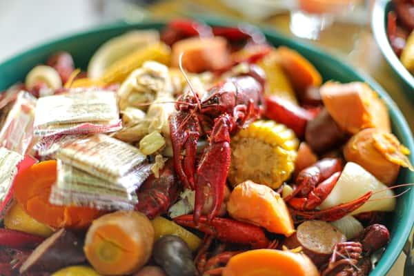 Saturday Crawfish Boil