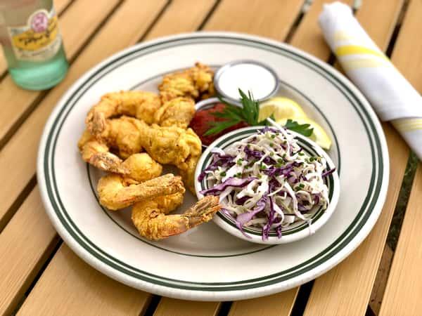 Fried Shrimp & Oyster Plate