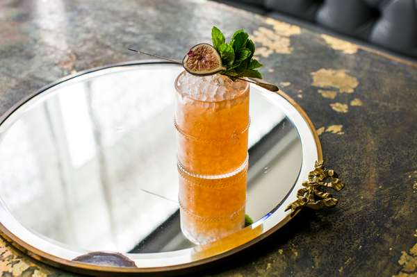 The vinegar and rye at Julep