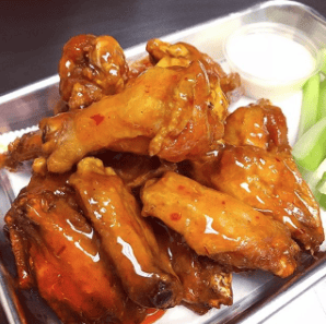 Wings - Mango Habanero (Hot!)