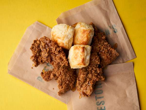 nuggets and biscuits