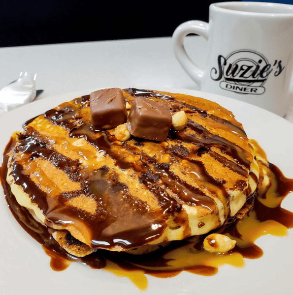 Snickers pancake special