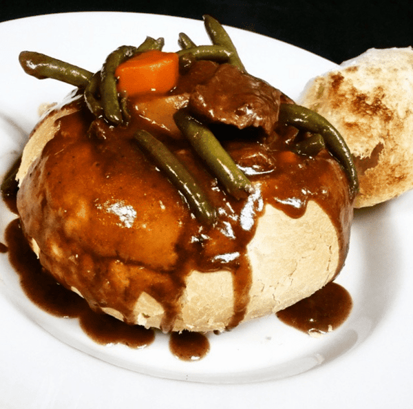 beef stew bread bowl classic special