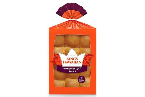 KING'S HAWAIIAN® || 12-Pack Honey Wheat Rolls