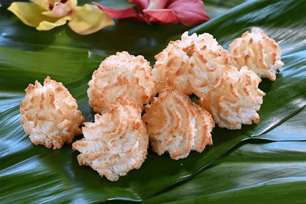 COOKIE BAG || Coconut Macaroon Cookies