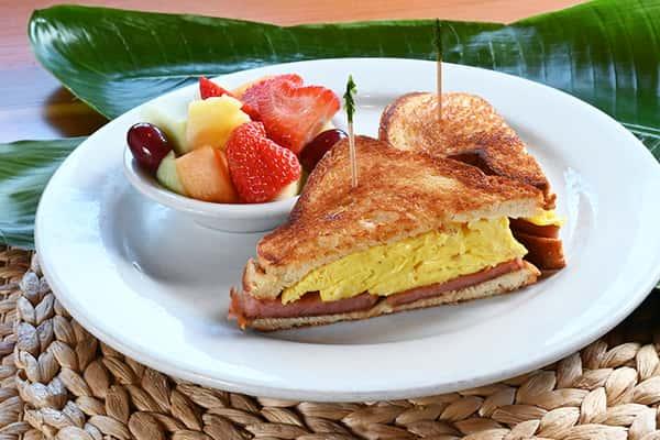 Spam & Egg Sandwich