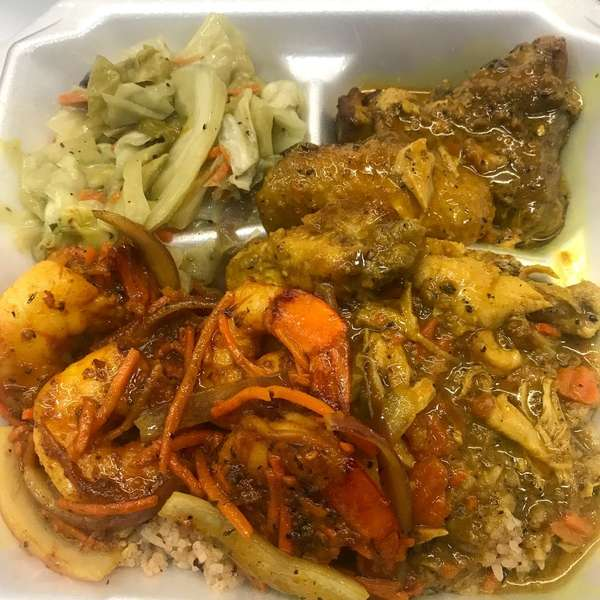 Curry Chicken & Curry Shrimp
