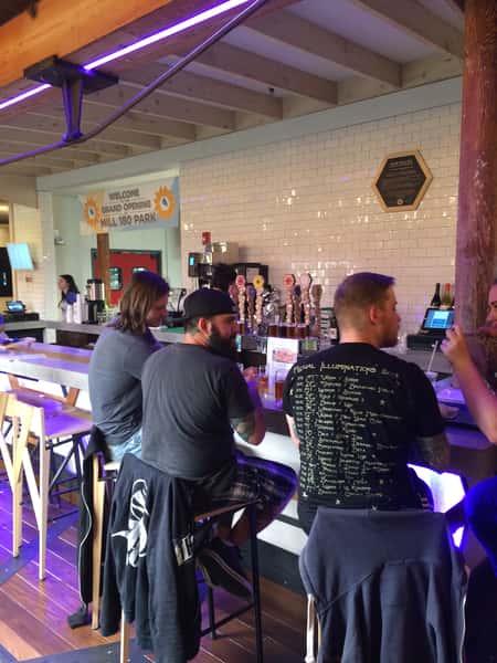 guests at bar
