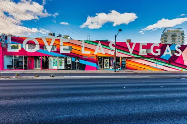 love Las Vegas art