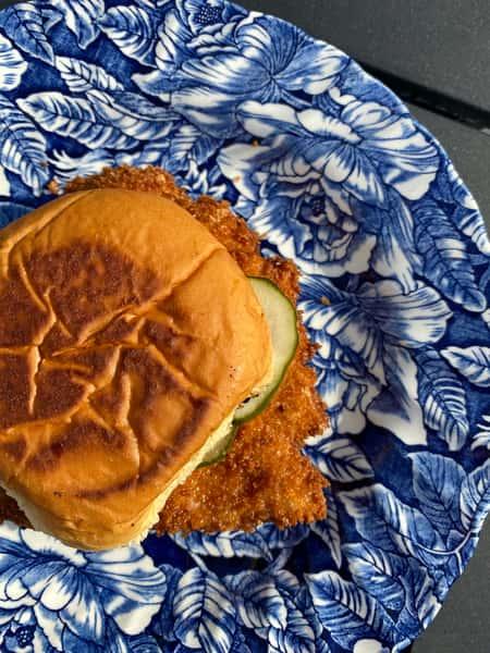 Crunchy Chicken Sando