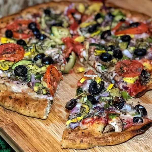Vegan Deluxe Pizza