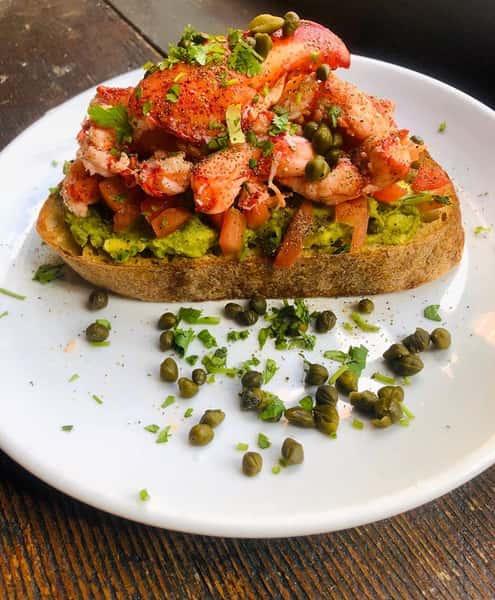 Lobster Avocado Toast