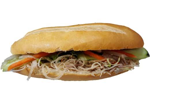 Shredded Pork Skin Sandwich (Bánh mì bì.)