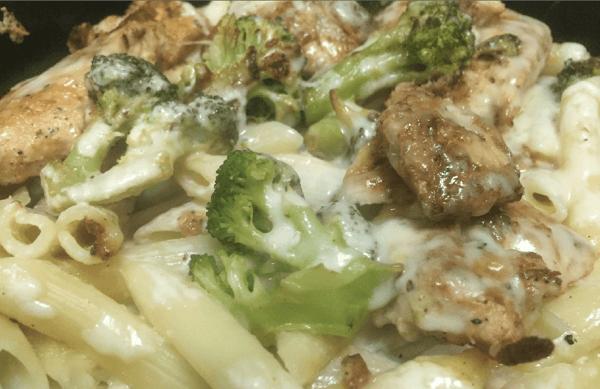 Chicken Ziti Broccoli Alfredo*
