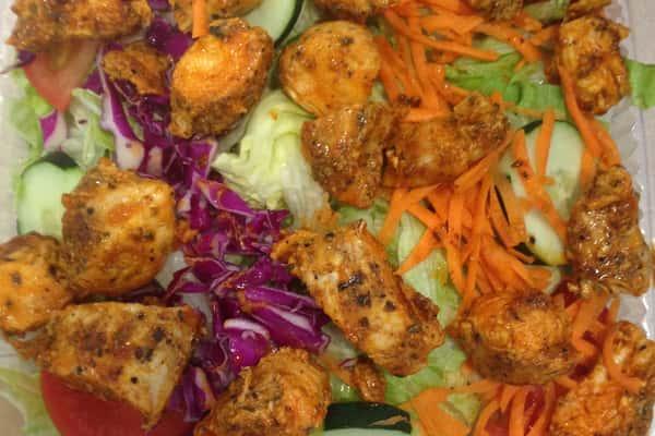 Grilled Buffalo Chicken Salad*