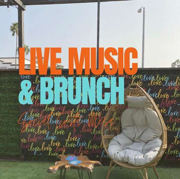 Live music and brunch