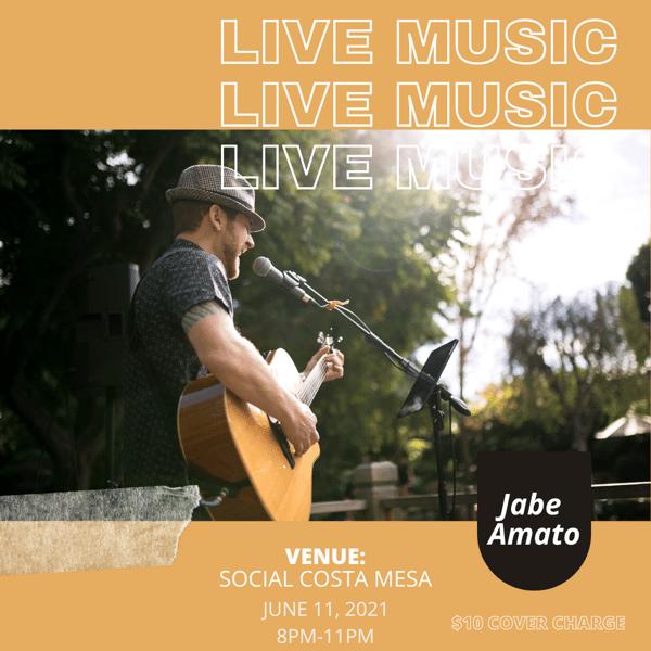 Live music @ social CM