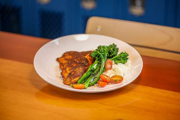 Panko Crusted Snapper