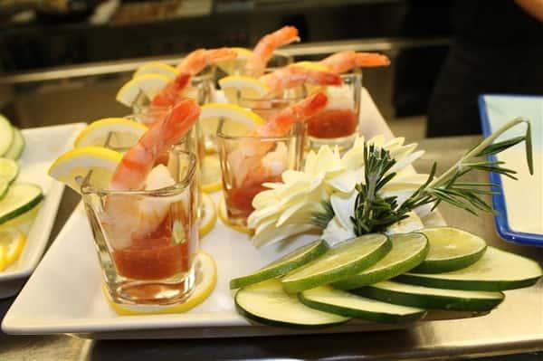 mini catered shrimp