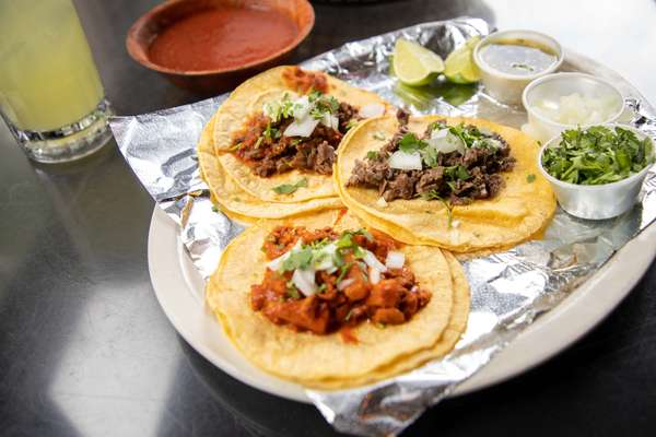 Al Pastor Texas Style Taco