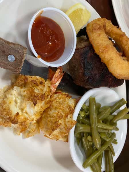 Filet Mignon & Stuffed Shrimp