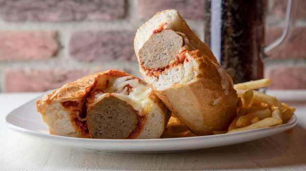 Meatballs Parmigiana