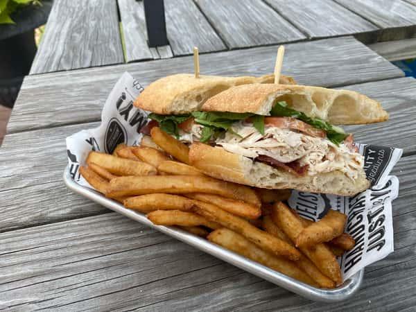Cool Ranch Chicken Sandwich