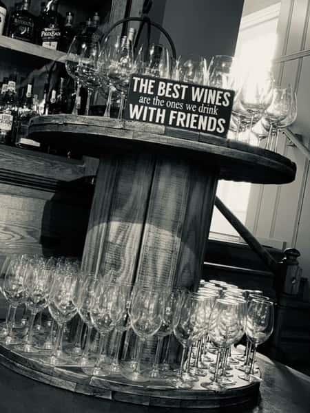 Glasses_Spool Table