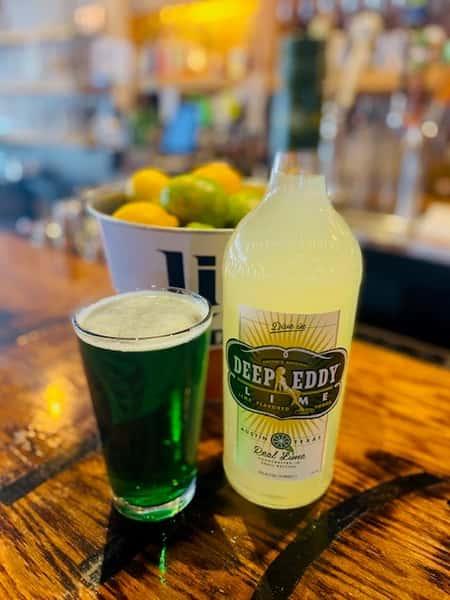 Deep Eddy_Green Beer