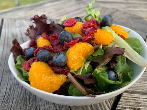 Blueberry & Cranberry Salad