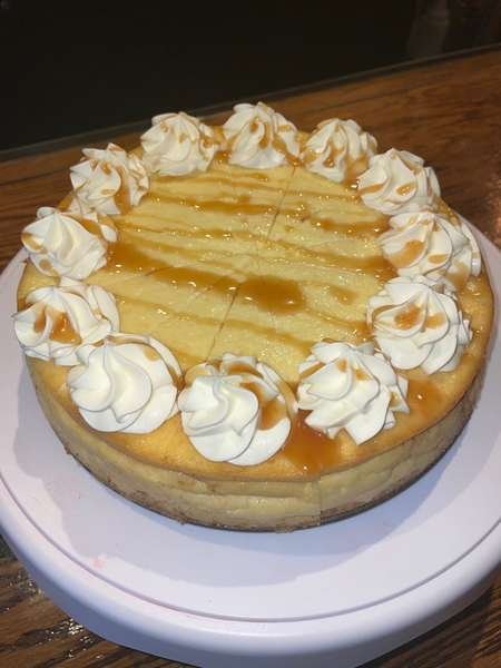 Bourbon Cheesecake