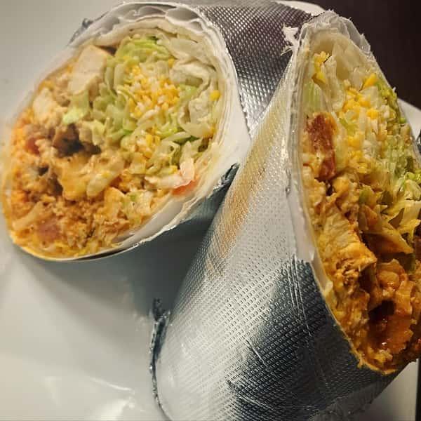 Cajun Chicken Ranch Burrito