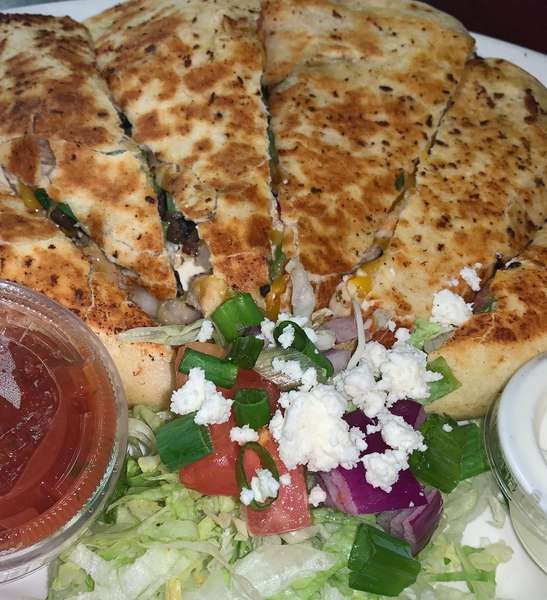Greek Chicken Quesadilla