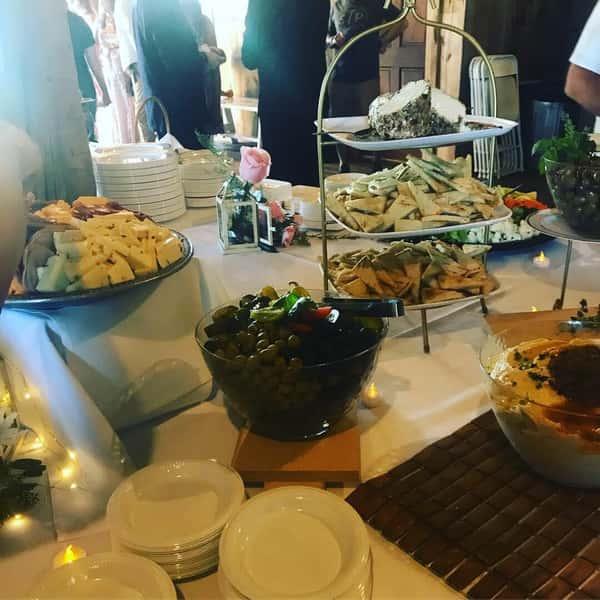 Gallagher Barn wedding catering