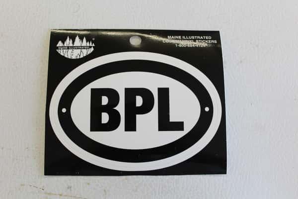 Small BPL Sticker