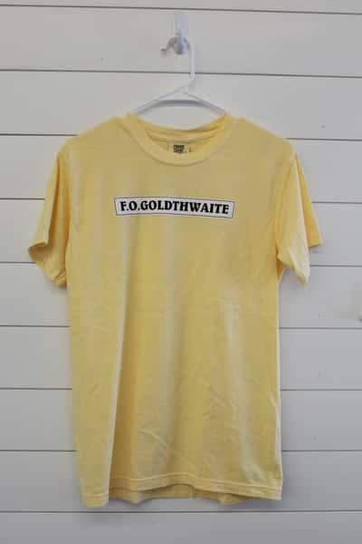 F.O. Goldthwaite's Tee Shirt