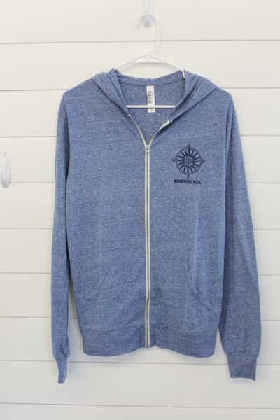 Full Zip Sweatshirt, Hooded