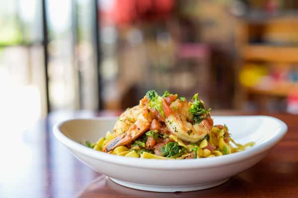 Shrimp Fettuccini