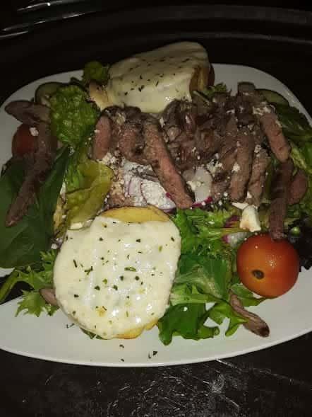 Pitts Burgh Steak Salad