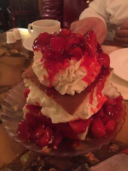 1/2 Strawberry Shortcake