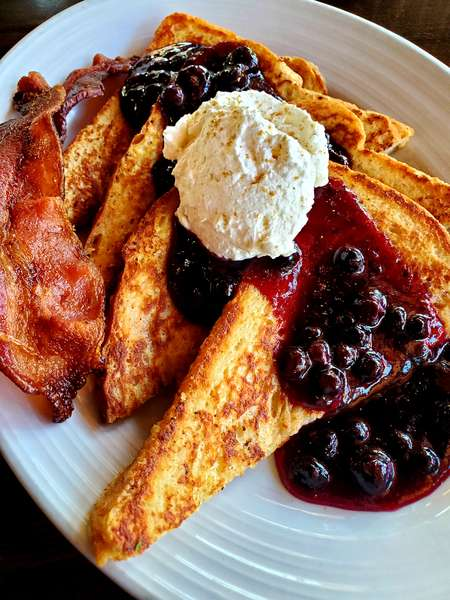Huckleberry French Toast