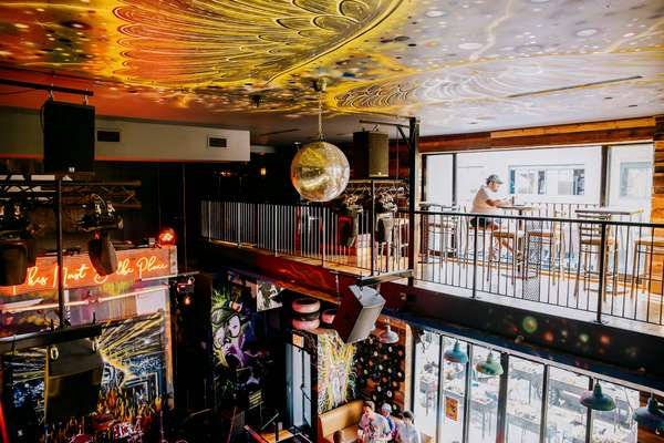 Book our upstairs bar for your party or take the main stage!