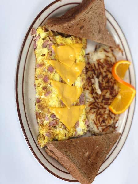 Ham and Cheese Omelette