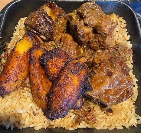 oxtail and rice