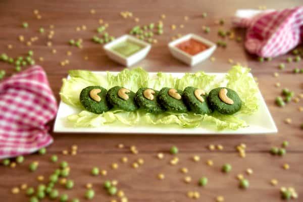 Hara Bhara Kebab Treated Blurred