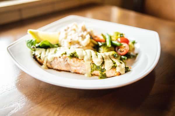 chimchuri salmon