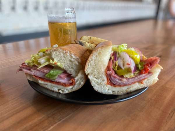The Big Italian Sub Sandwich