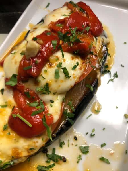 Eggplant Capri