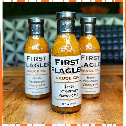 First & Flagler Sauce Co. Logo