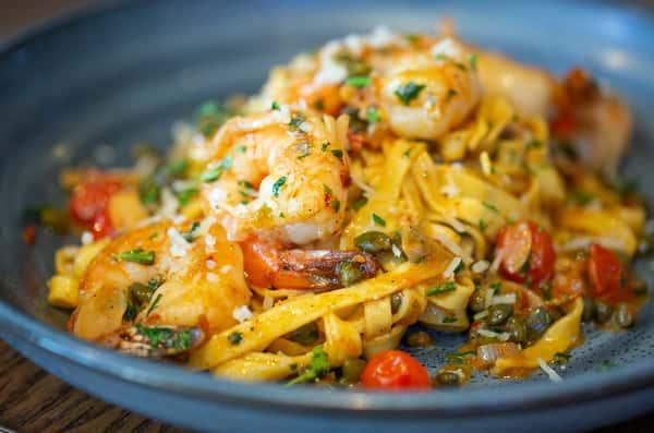Tequila Shrimp Pasta